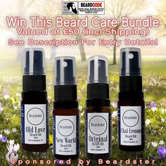 #Win This #Beardster #BeardOil And #BeardTshirt Bundle!  #BeardCodeis pleased to announce it's latest #PrizeDraw #competition has been sponsored by Beardster! #beard #beards #bearded #competition    Win Approx. £50 (Inc Shipping) worth of fabulous male grooming products in the Beardster Beard Company beard care products competition!