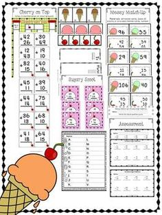 Double Dipped: Double Digit Addition Without Regrouping