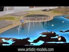 Masdar Interactive Scale Model - YouTube