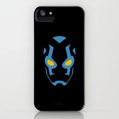 Blue Beetle Mask iPhone & iPod Case by Minimalist Heroes Iphone Hard Case, Iphone 5 Cases, Cute Phone Cases, Ipod Touch Cases, Disney Phone Cases, Cool Cases, Mobile Cases, Travel Size Products, Ipad Case