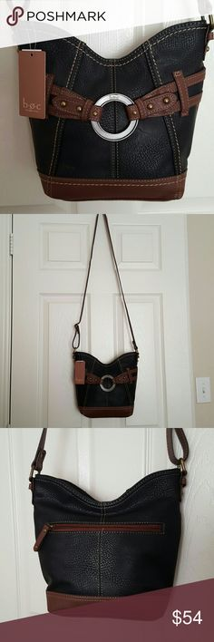 b.o.c. Born Concept Crossbody Shoulder Bag Super cute crossbody. Great harnest style look. Goes perfect with boots! H10x W9. Brand new....NWT b.o.c. Bags Crossbody Bags