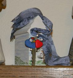 The key to Summers Heart by RustIsVogue on Etsy, $18.00