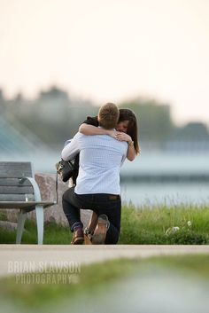 Photo by Brian Slawson Photography. Proposal shoot. Milwaukee, WI. #proposal #shesaidyes