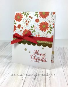 By Anna Jarnagin. CTMH Beary Christmas papers and embellishments.