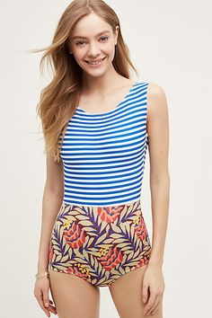 Seea Lido One-Piece - anthropologie.com