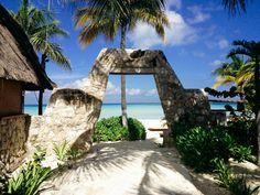 Na Balam hotel, Isla Mujeres (our honeymoon photo)