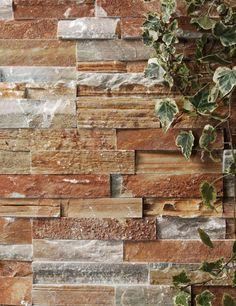 Bonitos acabados de piedra para paredes exteriores - Beltralinea, de Beltrami http://www.bonitadecoracion.com/2012/09/acabados-de-piedra-para-paredes-exteriores-jardin-hogar-casa.html