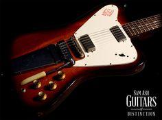 Gibson #Vintage 1965 Non-Reverse #Firebird V Electric Guitar (SN:504541)