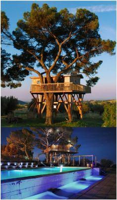 The Black Cabin ecoloft at La Piantata