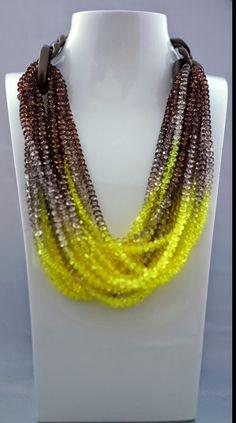 S/S2015 Beaded Necklace, Jewelry, Fashion, Shabby Chic, Beaded Collar, Moda, Jewlery, Pearl Necklace, Jewerly