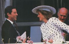 "Charles and Diana - ""They look happy!"""