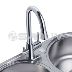 27303 Sanliv Dual Function Triflow Kitchen Faucet Delivers Hot And Cold  Water As Well As Filtered Water Through A Dedicated Tube In ...