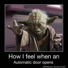 The Force push never works for me... lol