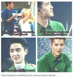 Kyungsoo, for a minute I was regretting pinning stuff calling you Satansoo and…
