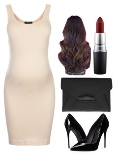 """Maternity Wear: At a Dinner Party"" by lovecupcake8 ❤ liked on Polyvore featuring Topshop, Dolce&Gabbana, Givenchy, MAC Cosmetics, women's clothing, women's fashion, women, female, woman and misses"
