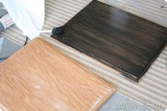 use gel stain to refurb oak cabinets... I wonder if I could go to a lighter shade, almost white?
