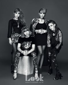 2NE1 for 1st Look Magazine Come visit kpopcity.net for the largest discount fashion store in the world!!