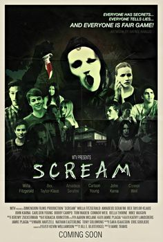 MTV Scream poster made by Scream Brasil. #TrustMeItsGonnaHurt
