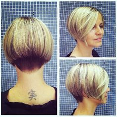 Pretty Short Bob Haircuts with Straight Hair