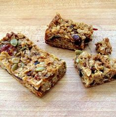 Homemade Chewy Granola Bars - Chewy granola bars are an incredibly easy recipe that can serve as a tasty breakfast or snack.
