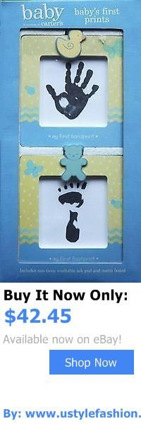 Handprint Kits: Babys First Prints Footprint And Handprint Frames By Stepping Stones BUY IT NOW ONLY: $42.45 #ustylefashionHandprintKits OR #ustylefashion