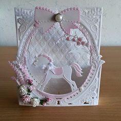 Baby card using Marianne diesw