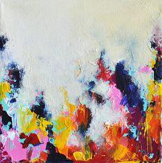 Jardin d'automne originale peinture abstraite par AbstractArtM