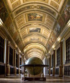 La bibliothèque de Fontainbleau, Île-de-France