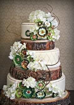 WEDDING & CELEBRATION: THEMES & SCHEMES : Country Woodlands / Enchanted Forest Wedding