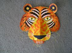 cardboard monkey mask - Google Search