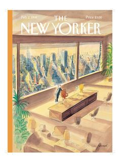 The New Yorker Cover - February 2, 1998