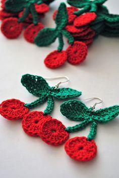 AURA - UpRo The blog: Handmade de mai / May handmade Elsa, Crochet Earrings, Deco, Pattern, Handmade, Accessories, Jewelry, Hand Made, Jewlery