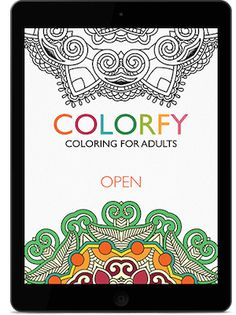 colorfy coloring for adults by fun games for free - Coloring Book App For Adults