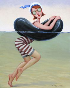 'Occasional Buoyancy' , made by: Fred Calleri - painting