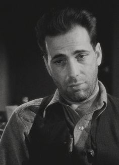 Humphrey Bogart as Duke Mantee in The Petrified Forest (Archie Mayo, 1936)