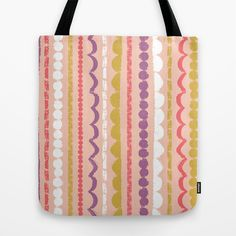 """Butterfly Garden - Streamers"" Tote Bag by Rebecca Stoner"