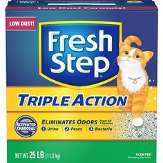 FRESH STEP CAT LITTER 261213 Fresh Step Triple Action Scooping Litter, 25 -Pound         * Read more reviews of the product by visiting the link on the image. (This is an affiliate link) #PetSupplies