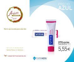 VITIS encías pasta dentífrica está formulada especialmente para prevenir y ayudar a tratar la inflamación y el sangrado de #encías por #ginigivitis manteniendo las encías en buen estado.