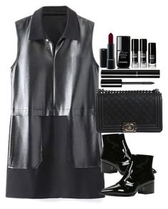 """""""Untitled #5206"""" by lguimaraes ❤ liked on Polyvore featuring ALDO, Chanel and MAC Cosmetics"""