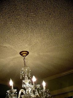Glitter ceiling to go with glitter walls. Mix glitter into Elmer's glue, roll on walls/ceiling w/ a paint roller. Glitter Bedroom, Glitter Paint For Walls, Glitter Grout, Sparkle Paint, Glitter Eye, Glitter Accent Wall, Glitter Home Decor, Glitter Floor, Glitter Uggs