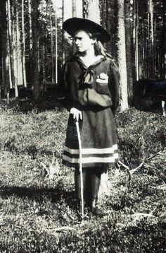 Grand Duchess Tatiana Nikolaevna Romanova (10 Jun 1897-17 Jul 1918), 2nd child of Tsar Nicholas II Romanov (1868-1918) Russia & his wife Alix-Alexandra Feodorovna (1872-1918) Hesse, Germany.