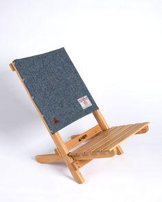 A.Native Lounge Chair Harris Tweed