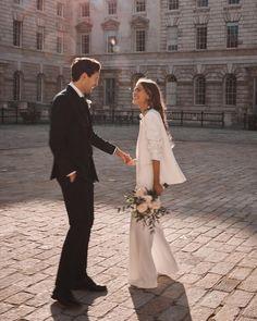 Beautiful London, Civil Wedding, London Wedding, Bridesmaid Dresses, Wedding Dresses, Alternative Wedding, Wedding Suits, Bridal Style, Wedding Bells