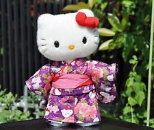 Hello Kitty Japan Limited New Plush Doll Rare Kimono Stuffed Kawaii Cute Sanrio