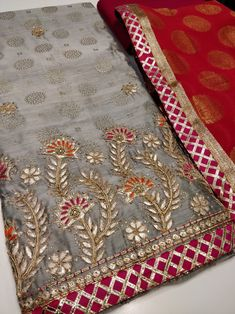 Order contact my WhatsApp number 7874133176 Embroidery Suits Punjabi, Hand Embroidery Dress, Kurti Embroidery Design, Bead Embroidery Patterns, Embroidery Fashion, Hand Embroidery Designs, Beaded Embroidery, Punjabi Suit Neck Designs, Pakistani Dress Design