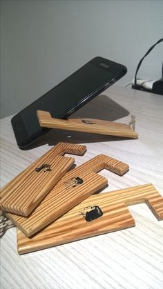 Wooden stand Phone #7