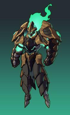 ArtStation - Animated Armor, Begal👻 Bao