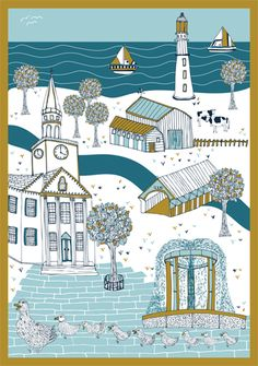 New England by Jessica Hogarth Designs