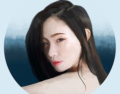 """Check out new work on my @Behance portfolio: """"Korean Girl"""" http://be.net/gallery/62410269/Korean-Girl"""