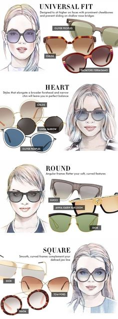 c0bb77f68b56 Protect your eyes from the sun this season with the perfect glasses  courtesy of our fit guide. We ve curated a list of must-have summer  accessories in ...